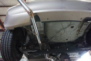 Z12 マーチ ワンオフマフラー製作