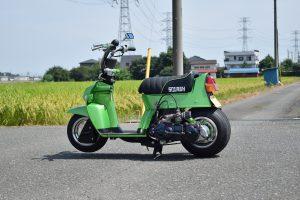 ホンダ スカッシュ カスタム 太足化 8J 完成