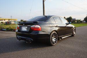 BMW 325i 中間マフラーストレート加工