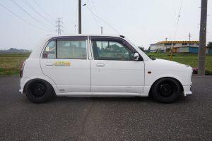 L700 ミラジーノ ワンオフマフラー