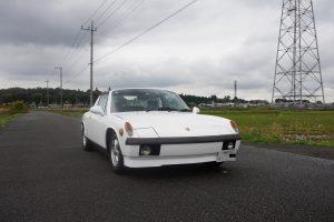 ポルシェ 914 ワンオフマフラー製作